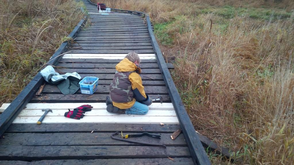 kid along rails