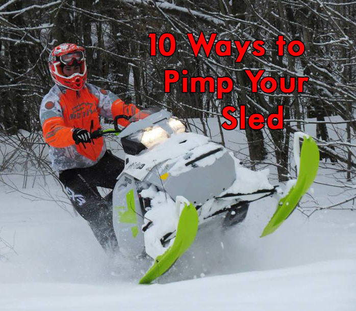 10 ways to pimp your sled 2