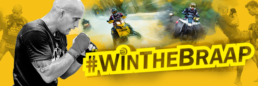 #winthebraap with Mitch Gagnon