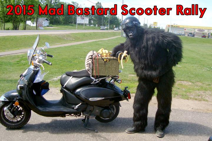 2015 Mad Bastard Scooter Rally