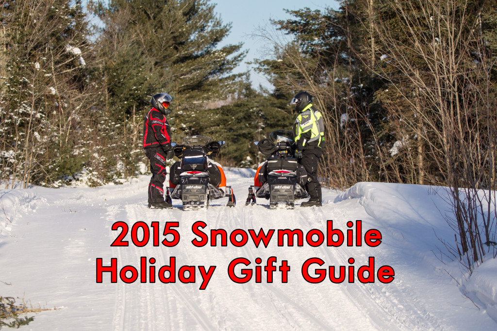 2015 Snowmobile Holiday Gift Guide