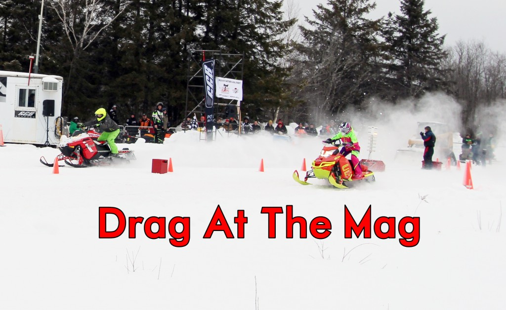 DRAG AT THE MAG COVER