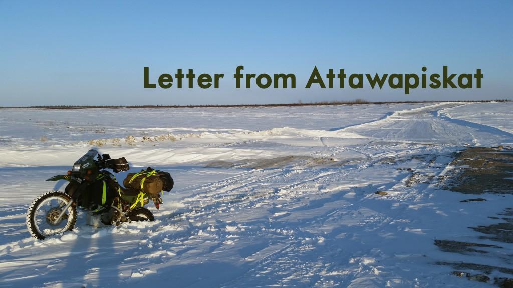 Letter from Attawapiskat